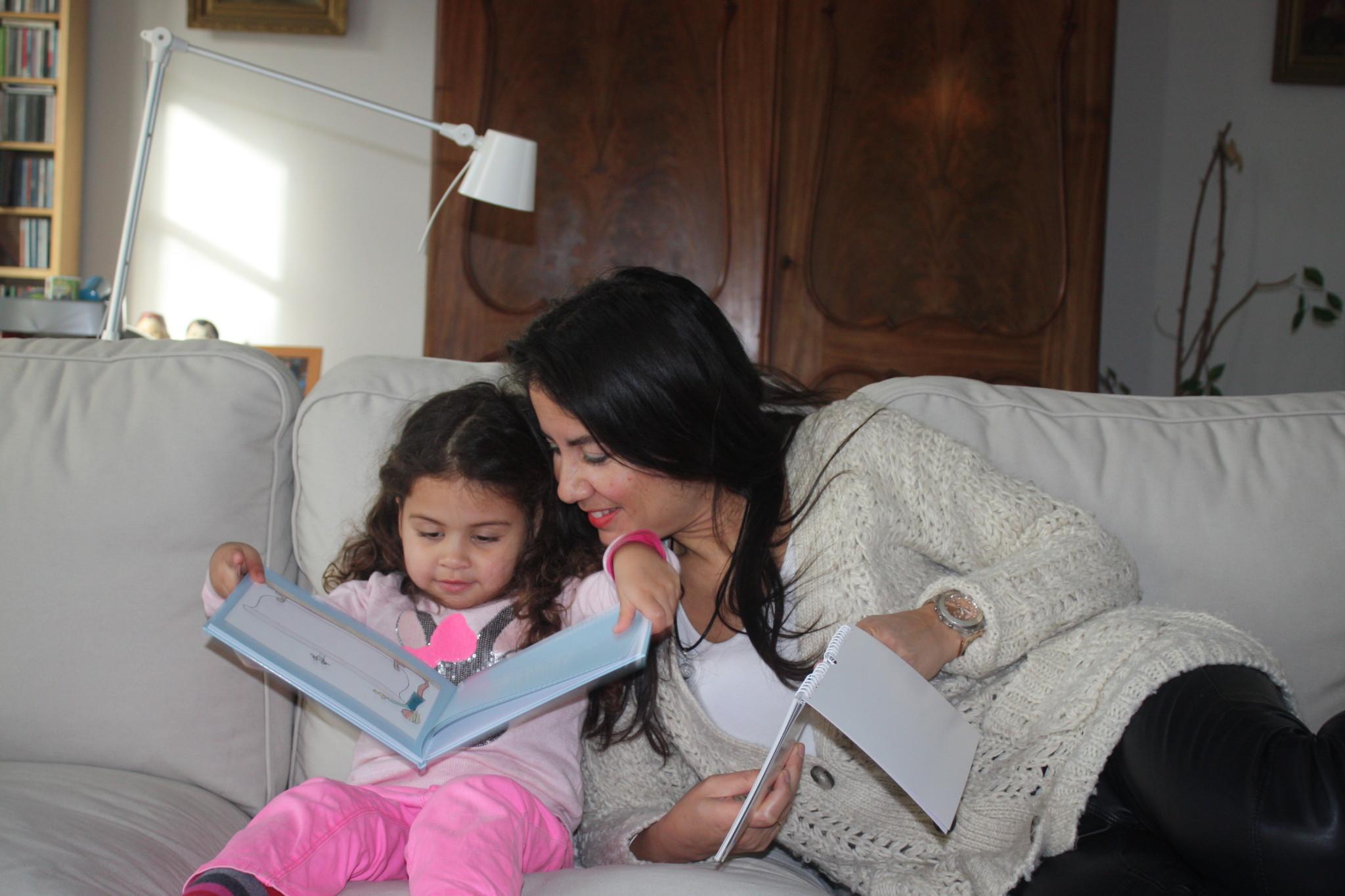 Rory en dochter Mila