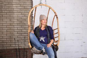Danielle Lips Nogarede voor Mama Wear