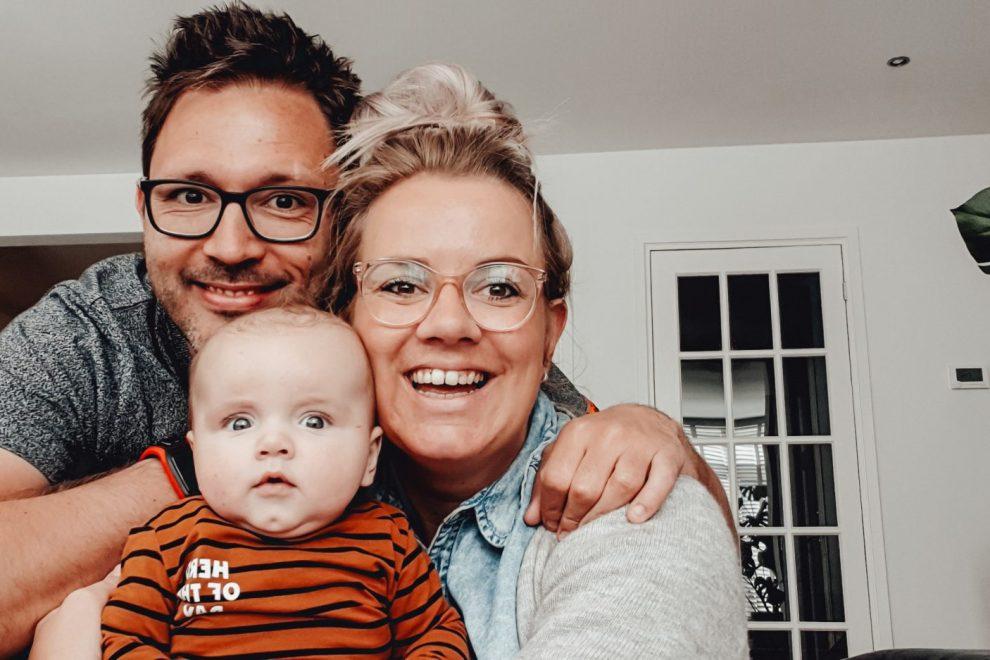 Marly Martens en gezin