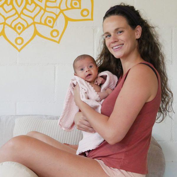 Moeder met baby - Workshop baby wellness